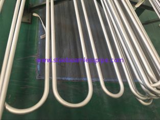 China ASTM B444 Gr.2 INCONEL 625    Seamless U Bend Tube for Heat Exchanger Application 100% UT & ET & HT supplier