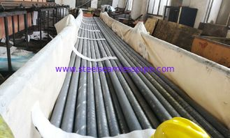 "Industrial Heat Exchanger Finned Pipe ASTM A312 TP304 OD 1/4"" - 8"" With Length 9116MM"