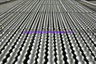 19.05 X 2.11MM Heat Exchanger Tube Corrugated Stainless Steel Pipe Integral Low Finned