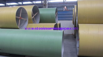 Astm A790 / A928 Duplex Stainless Steel Pipes Welded Seamless Sch10 Sch40