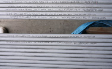 TP316L Stainless Steel Seamless Tube Pickled Annealed ASTM A269 / ASME SA269