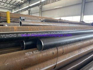 "Durable Alloy Steel Seamless Pipes Astm A335 P11 P22 P5 P9 Black Painting Ba 4"" Sch120 * 11.6m"