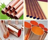 China Copper Nickel Pipes and Tubes , Cupro Nickel Pipes and Tubes ASTM B111 C10200 C70400 C70600 ASTM B288 ASTM B688 factory