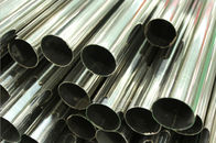 China Stainless Steel Welded Pipe, Polished, Plain End, ASTM A554 TP304 / 304L TP316 / 316L TP321 / 321H, Length 6M company