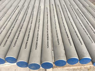China Tuberia de acero inoxidable sin costura(SEAMLESS) A312 TP304,TP304L,TP316,TP316L,PICKELD AND ANNEALED,ET/HT/UT,PLAIN END factory