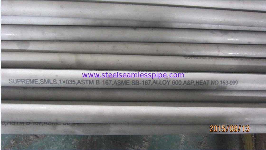 High-temperature Nickel Alloy Pipe High Strength ASME SB167 UNS NO 6600. UNS6600 , Alloy Steel Seamless Pipe,High Temp.