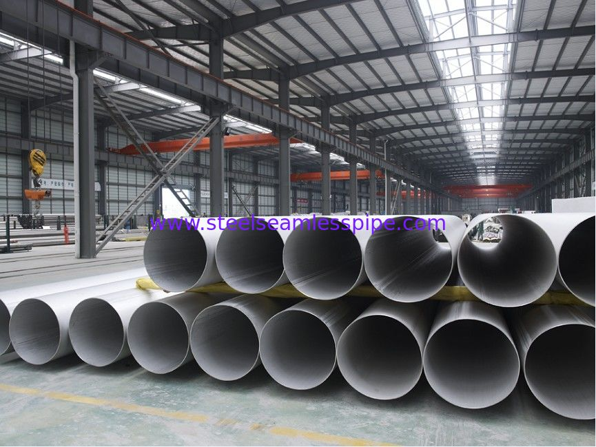 STAINLESS STEEL WELDED PIPE,ASTM A312 ASTM A358  TP316/316L TP321/321H BEVELLED END 100% RT. UT. HT. ET