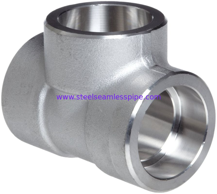 Forged alloy steel fittings stainless equal tee a