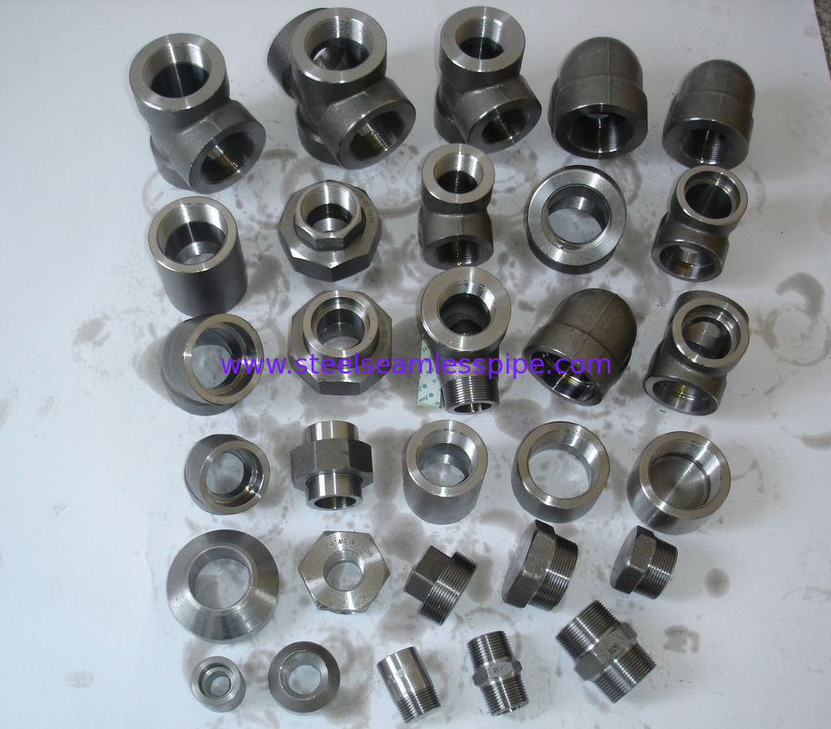 Square forged steel fittings duplex nickel alloy
