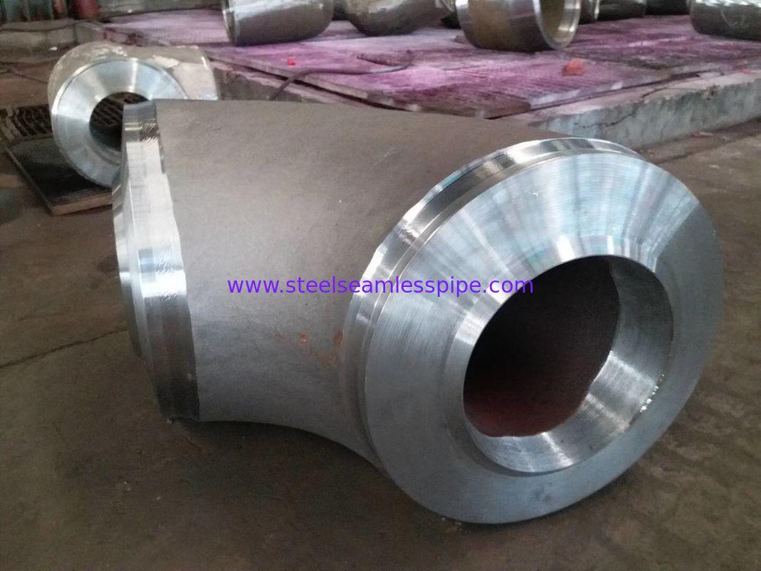 Stainless Steel Butt Weld Fittings Long Reduce, 90 deg Elbow