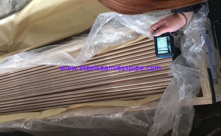 Straight Copper Tube ASTM B111 O61 C70600 C71500 Nickel Alloy Tube For Boiler