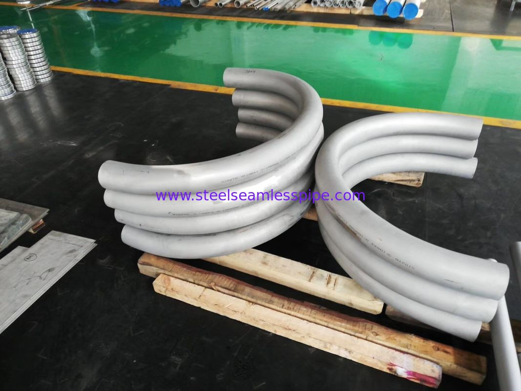 ASME SB167 UNS NO 6600. UNS6600 , Alloy Steel Seamless bend pipe , 100% PT , ET, UT , Petrochemical, Heating application