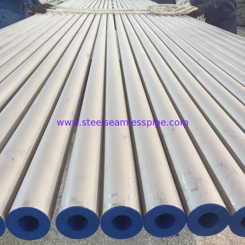 Stainless Steel Seamless Pipe, EN 10216-5 TC 1 D3/T3 1.4301 (TP304/304L), 1.4404, 1.4571