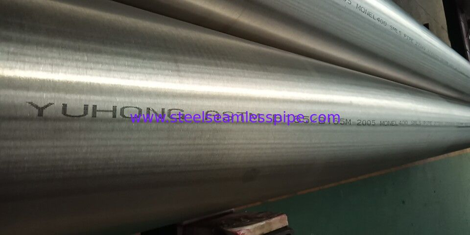 Monel 400 Seamless Nickel Alloy Pipe Bright Surface B165/B725 1MM - 30MM WT