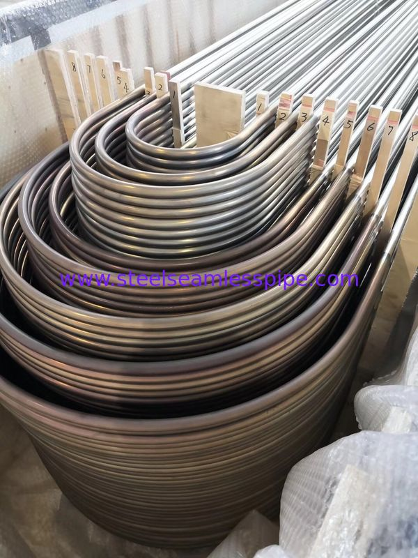 TP304L Material U Bend Tubes For Heat Exchanger ASTM A213 / SA213-2013