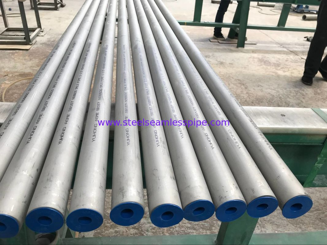 Alloy 600 Inconel Tubing Heat Exchanger Tubes UNS N06600 Seamless Type