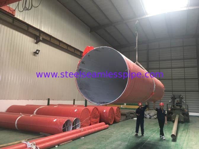 Pickeld / Annealed Stainless Steel Seamless Tube 0.03mm-15mm Thickness