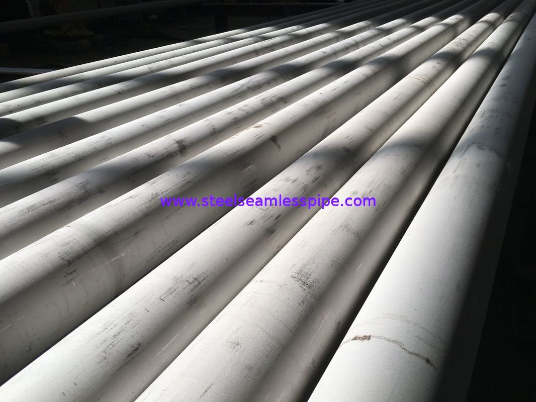 A269 TP316Ti Stainless Steel Seamless Pipe U Bend And Straight 100% Hydrostatic Testing