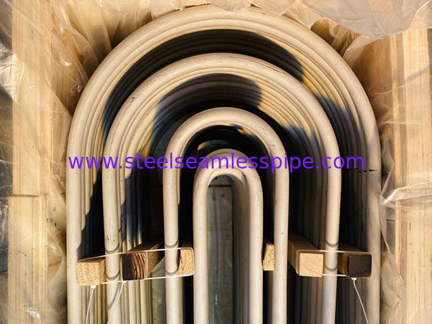 ASME SA213-2018 TP304 Material Stainless Steel U Bend Tube For Heat Exchanger