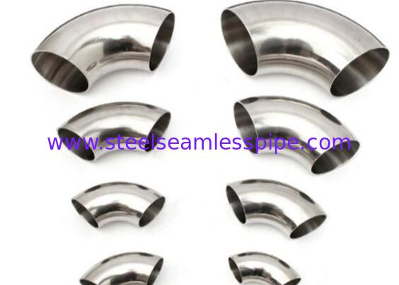 Stainless Steel Sanitary Fitting 3A SMS BRIGHT SS304 SS316L 25.4 * 1.5MM