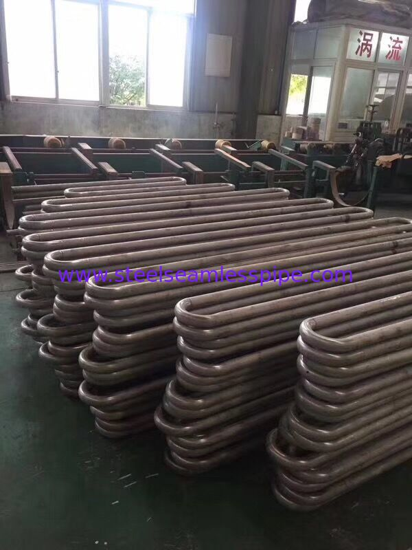Stainless Steel Seamless	Bright Annealed Tube Pickled U Bend Coil 19.05 * 1.65MM