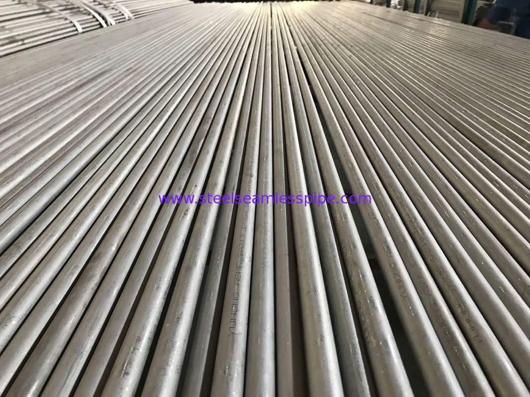 "Astm A213 / Asme Sa213 Tp304 Heat Exchanger Tube 3/4"" 16 Bwg 20ft Straight Type"