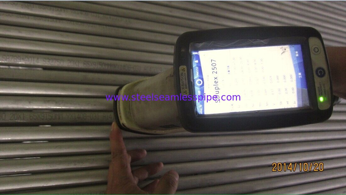 Duplex Stainless Steel Pipe,ASTM A789 / ASTM A790 UNS S32750 Super Duplex Stainless Steel Pipes/ Tubes, Alloy 2507, F53