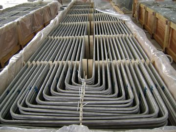 China Stainless Steel U Bend Heat Exchanger Tube TP304 Material Stable Performance factory