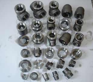 China Stainlesss Steel Forged Steel Fittings B16.22 flangeolet , weldolet , reduce tee , elbow , cap , tee factory