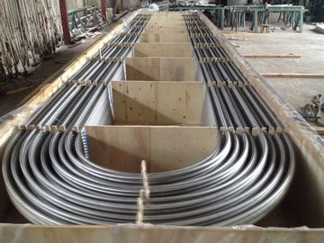 China Bright Surface Stainless Steel U Bend Tube TP316L / TP316Ti / ASTM B677 904L factory