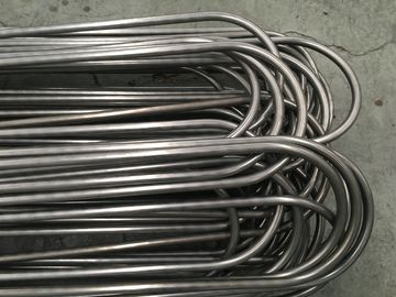 China Bright Annealing Stainless Steel U Bend Tube ASTM A269 TP316L 12.7 * 1.24 * 6000MM factory