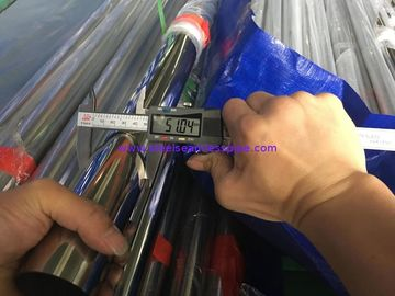 China A554 Stainless Steel Decorative Tube / Pipe TP304/304L TP316/316L For Baluster Handrail Satin / Mirror factory