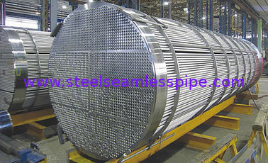 China ASTM A213 / ASME SA213 Customized 321 Stainless Steel Seamless Tube For Heat Exchanger Projects 25x2x6000mm factory