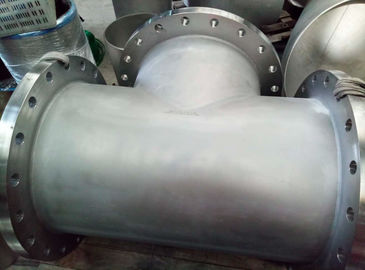 Butt Weld Pipe Spool B366 Hastelloy C-276 BW Straight Tee Welded With Flange 24""