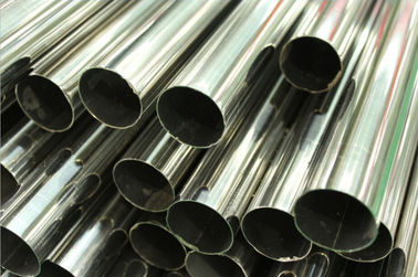 China Length 6M Stainless Steel Welded Pipe Polished Plain End ASTM A554 TP304 / 304L TP316 / 316L TP321 / 321H factory