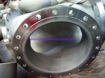 "B366 Hastelloy C-276 Pipe Spool Butt Weld Fittings B16.9 Welded With Plate Flange 24"" B16.5"