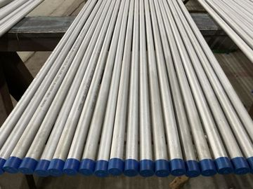 China Polished Stainless Steel Seamless Pipe Straight Tube / U Bend Tube / Coil Tube Type factory