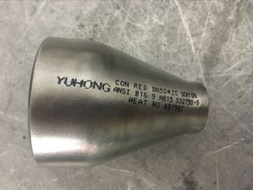 China UNS S32750 / S32760 Seamless Butt Weld Reducer , ECC Reducer ASME B16.9 factory