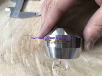 China A182 F60/F51 Forged Steel Fittings Swage / Nipple Coupling Elbow Bush Union 3000# ASTM B16.11 factory