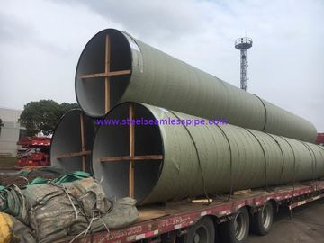 China Food Plant Super Duplex Seamless Pipe / Welded Steel Pipe Corrosion Resistance factory