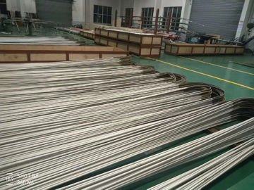 China 19.05 X 2.11 X 6096 MM  ASME SA213 TP304L  Stainless Steel Seamless Tube , U Bend type , heat exchange application factory