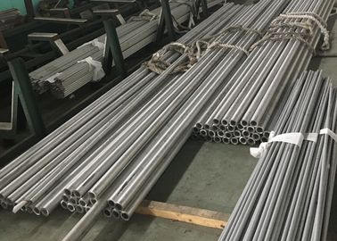 "China STAINLESS STEEL SEAMLESS PIPE HOLLOW BAR ASTM A312 / A312M EN10216-5 2"" SCH40 FURNACE TUBE 1.4841 TP314 factory"