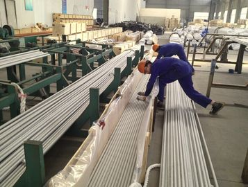 China Stainless Steel Seamless Tube, ASTM A213 TP310S/310H, 25.4 x 2.11 x 6096mm, pickled, annealed, wooden case packing . distributor