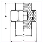 Forged Steel Fittings , A 182 / A105 , Class 1000 / Class 2000, B564  Flangolet, weldolet , Nipple, Coupling, olet