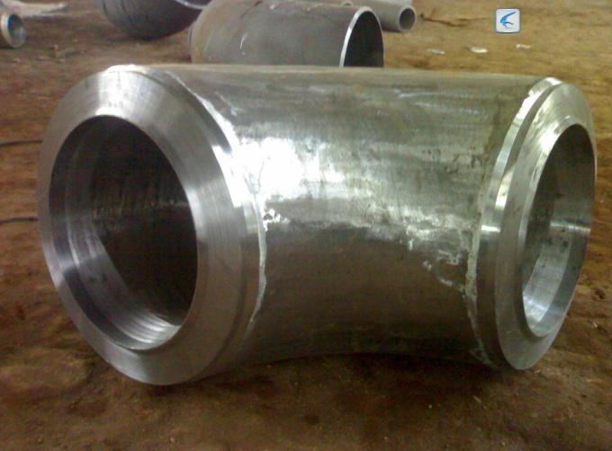 Duplex Steel Forged Steel Fittings , Stainless Steel fitting alloy steel forged Elbow / Tee / Reducer / Stub End
