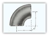 """Raccords soudés bout à bout en acier inoxydable à réduction longue, coude 90 °, 1/2 """"à 60"""", sch40 / sch80, sch160, XXS B16.9"""