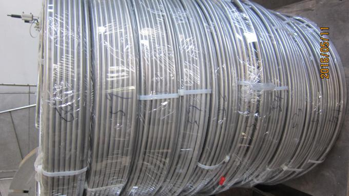 JIS G3469 G3463  STAINLESS STEEL SEAMLESS COIL TUBE , 10MM  X 1MM X 100M