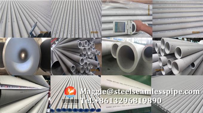 Pickling Surface Astm Stainless Steel Pipe Tp304 Material Grade ISO9001
