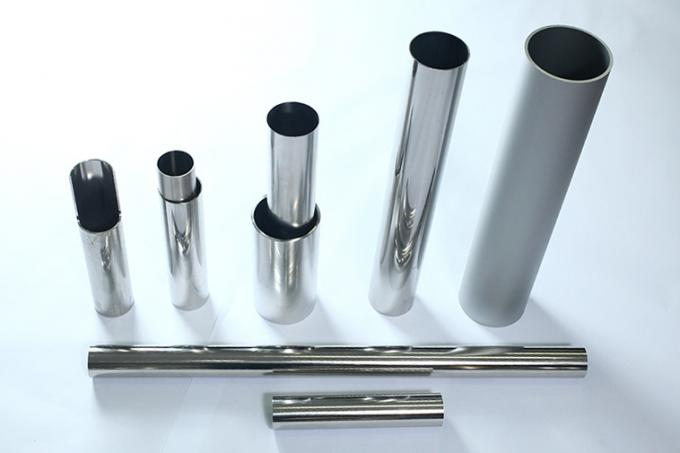 ASTM A554 Stainless Steel Welded Tubing, Polished, Plain End , TP304 / 304L TP316 / 316L TP321 / 321H