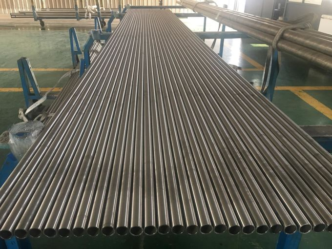 Incoloy Alloy 825 seamless pipe , Nickel Alloy Pipe ASTM B 163 / ASTM B 704, 100% ET AND HT-Tubo de Níquel de aleación